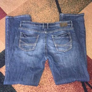 Men's BKE Jeans Tyler bootleg 36 XL NWOT